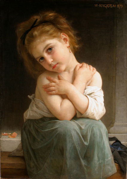 File:William A. Bouguereau - La Frileuse - 1879.jpg