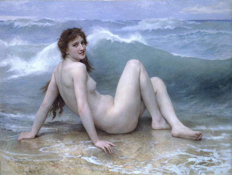 File:William-Adolphe Bouguereau (1825-1905) - The Wave (1896).jpg