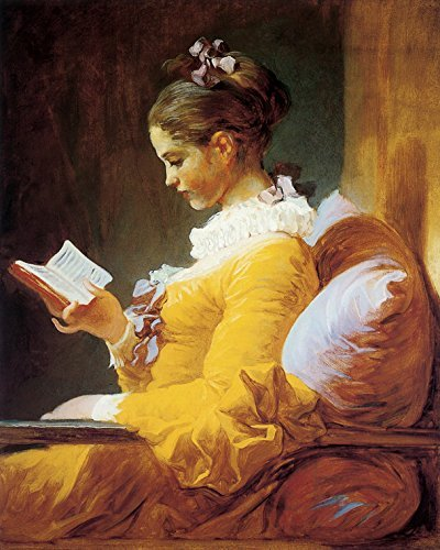 "Image result for ""A Young Girl Reading� Jean-Honoré Fragonard"