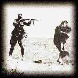 German Nazi Soldier Shooting Jews